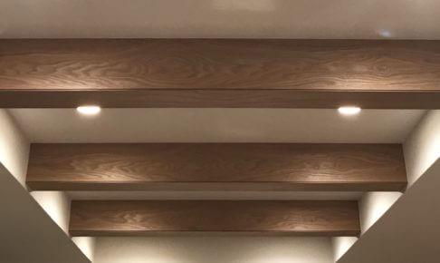 新築の天井に梁(半あらわし梁)はオススメ